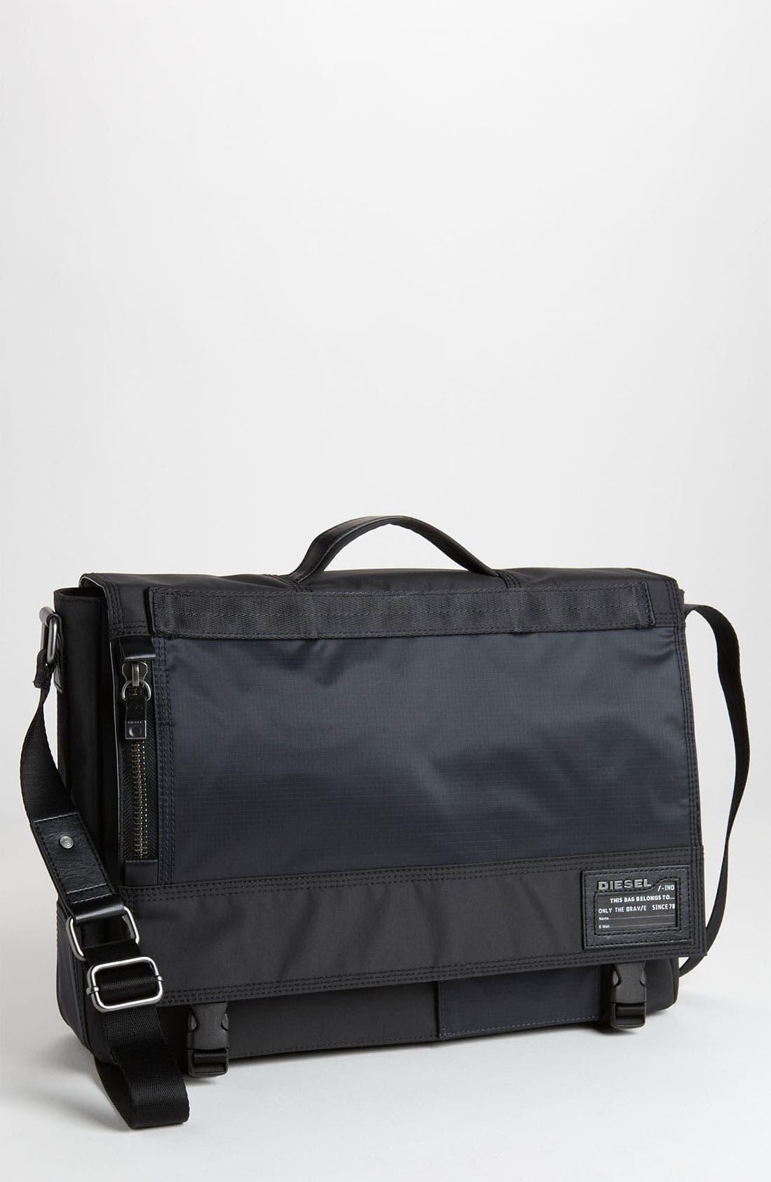 Alternate Image 1 Selected - DIESEL® 'Processor CPU' Laptop Crossbody Bag