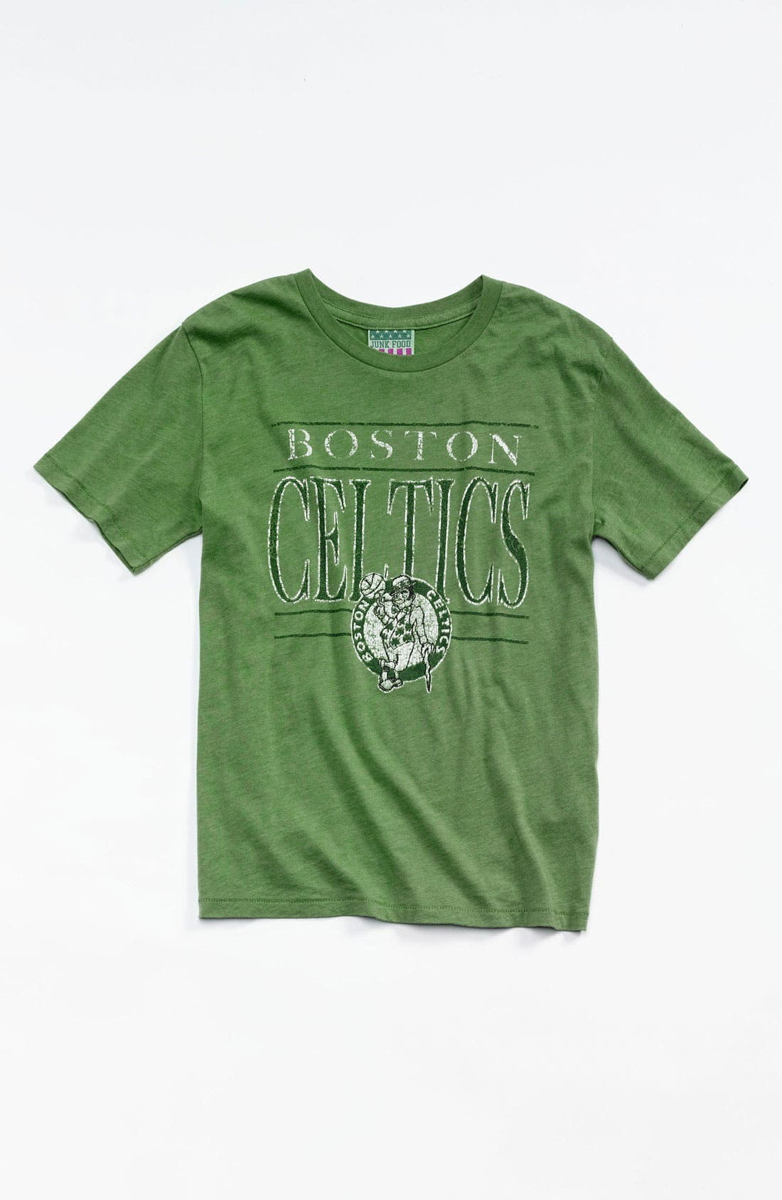 Alternate Image 1 Selected - Junk Food 'Boston Celtics' T-Shirt (Little Boys & Big Boys)