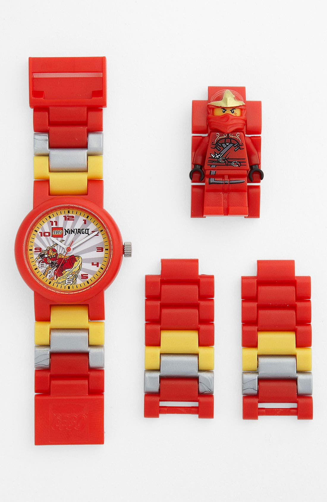 Alternate Image 1 Selected - LEGO® 'Ninjago' Character Watch & Toy (Boys)
