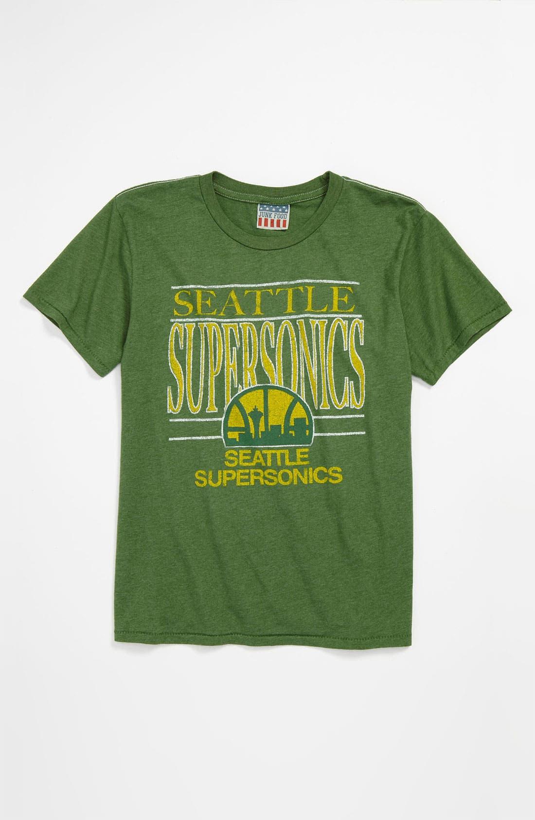 Main Image - Junk Food 'Seattle Supersonics' T-Shirt (Little Boys & Big Boys)