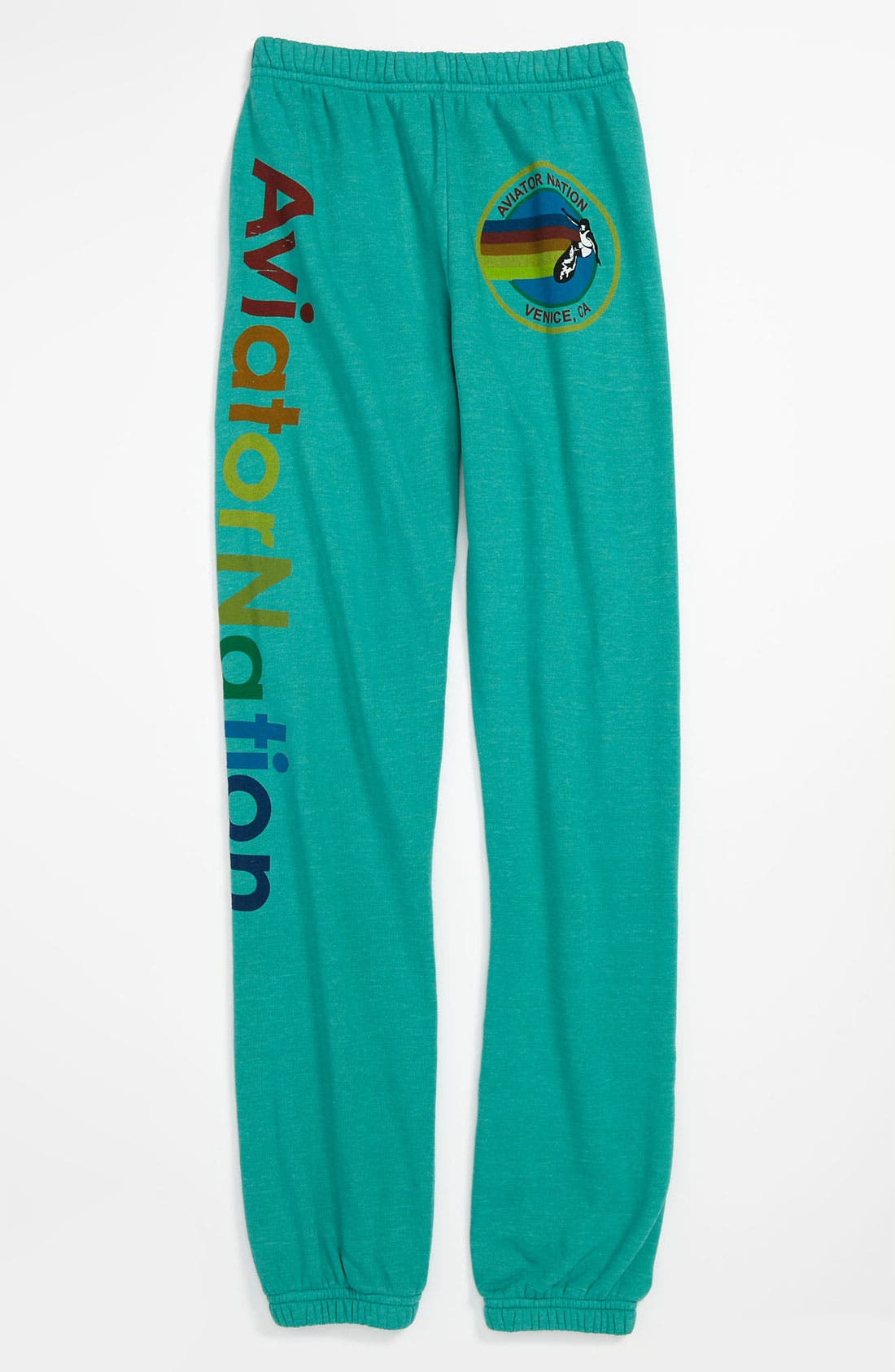 Alternate Image 1 Selected - Aviator Nation 'Signature' Pants (Big Girls)