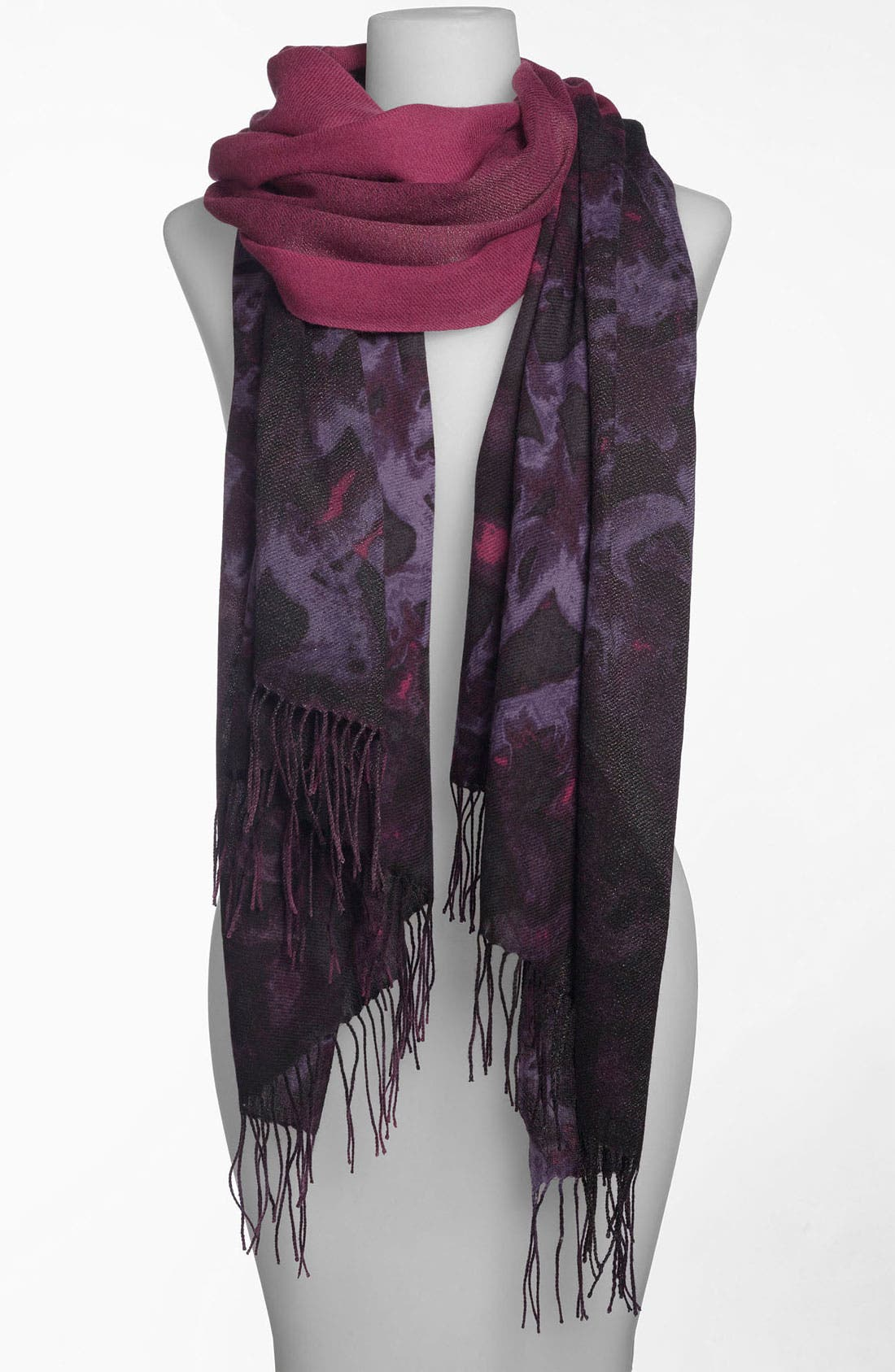 Main Image - Nordstrom 'Smudge Lace' Tissue Scarf