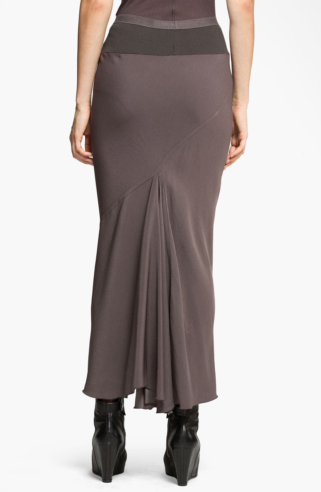 Alternate Image 2  - Rick Owens Crepe Midi Skirt