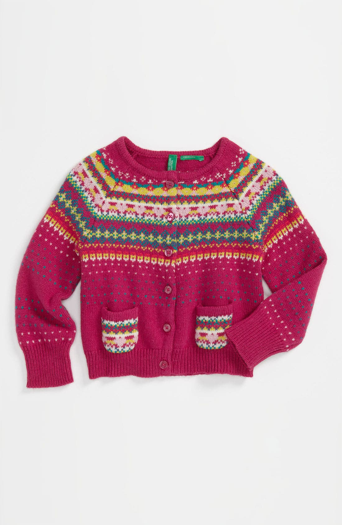 Alternate Image 1 Selected - United Colors of Benetton Fair Isle Sweater (Toddler)
