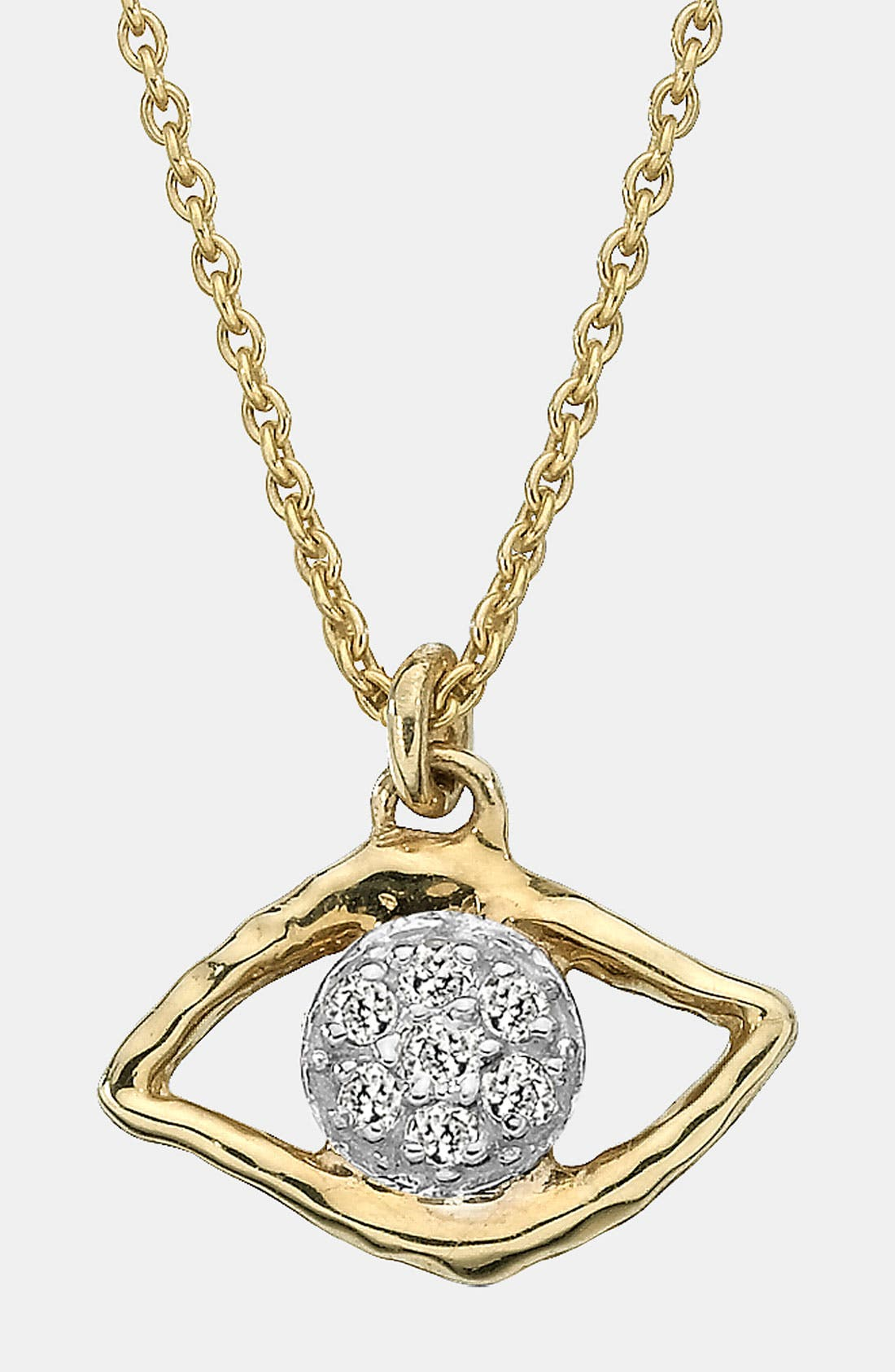 Main Image - Whitney Stern Evil Eye Pendant Necklace