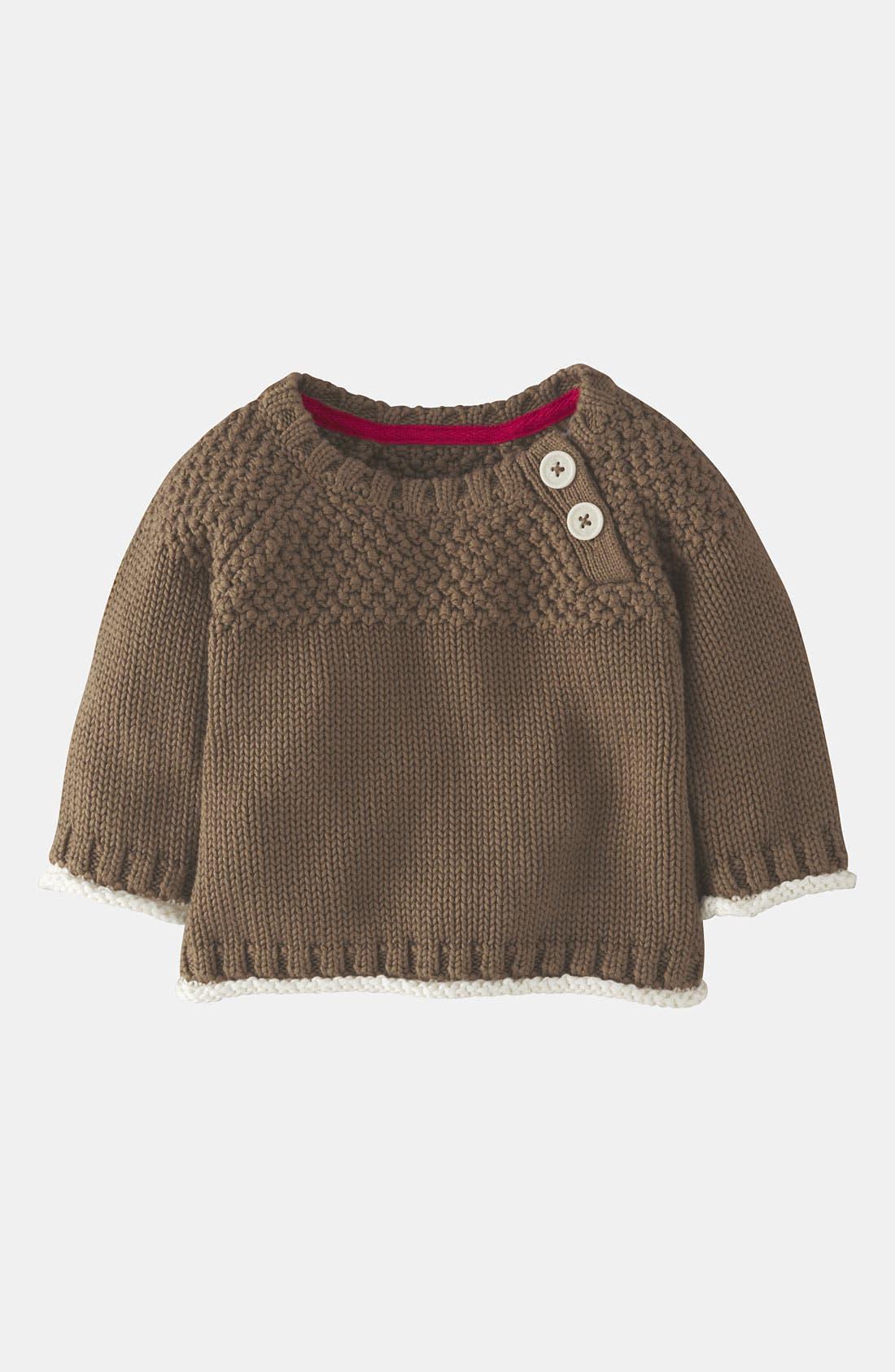 Main Image - Mini Boden Knit Sweater (Baby)
