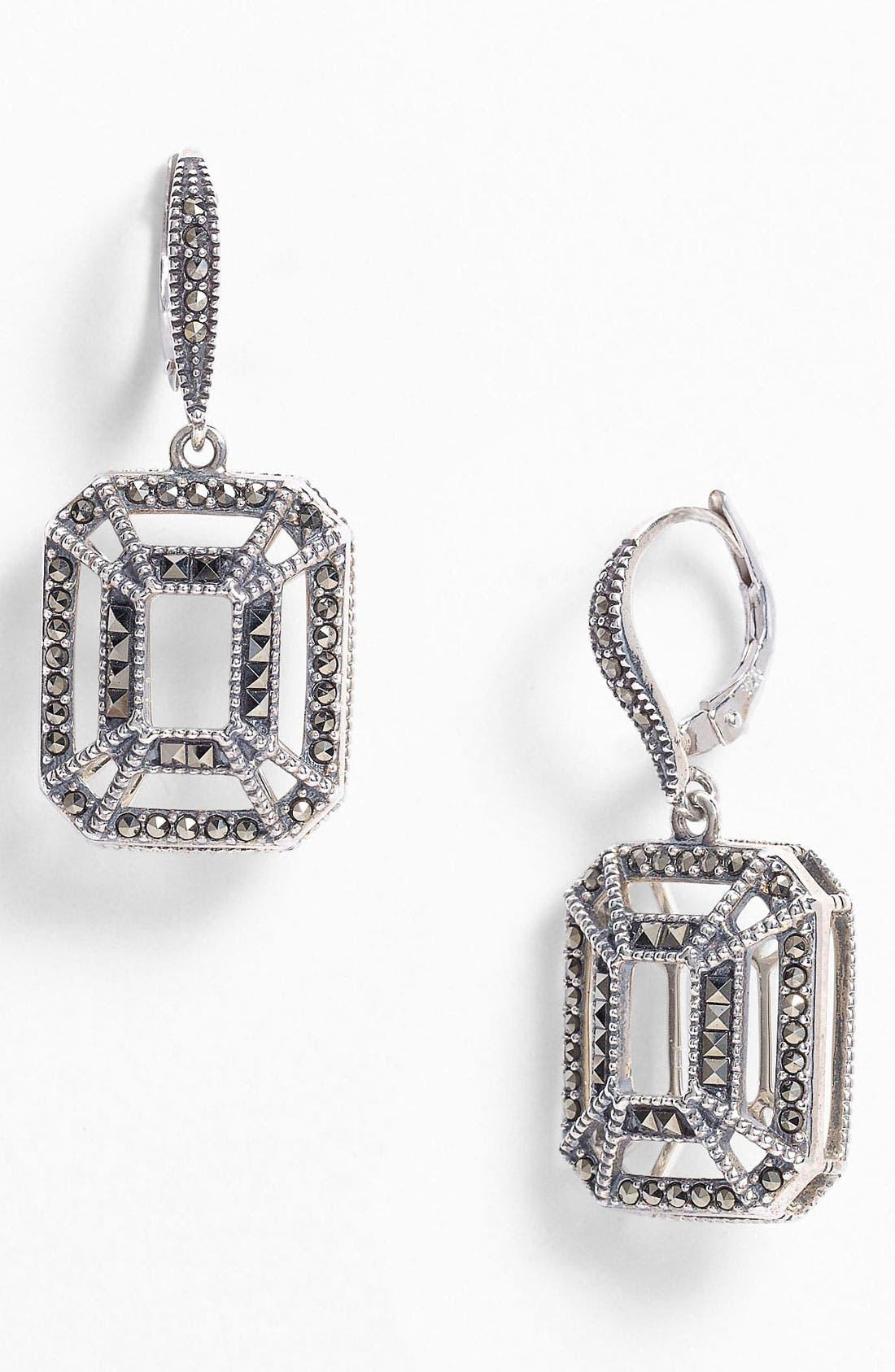 Alternate Image 1 Selected - Judith Jack 'Caged In' Drop Earrings