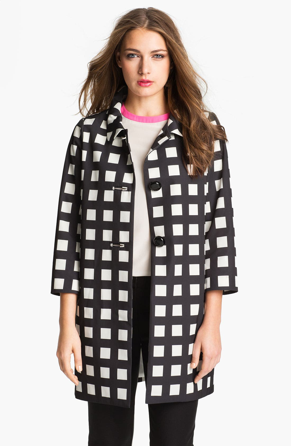 Alternate Image 1 Selected - kate spade new york 'franny' coat