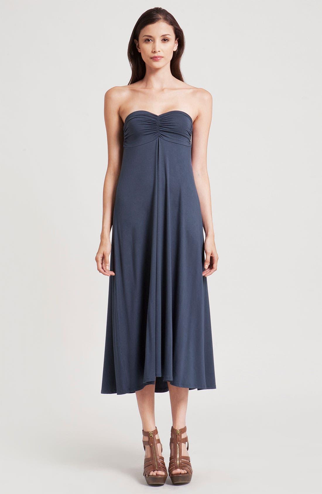 Alternate Image 1 Selected - Three Dots Convertible Maxi Dress