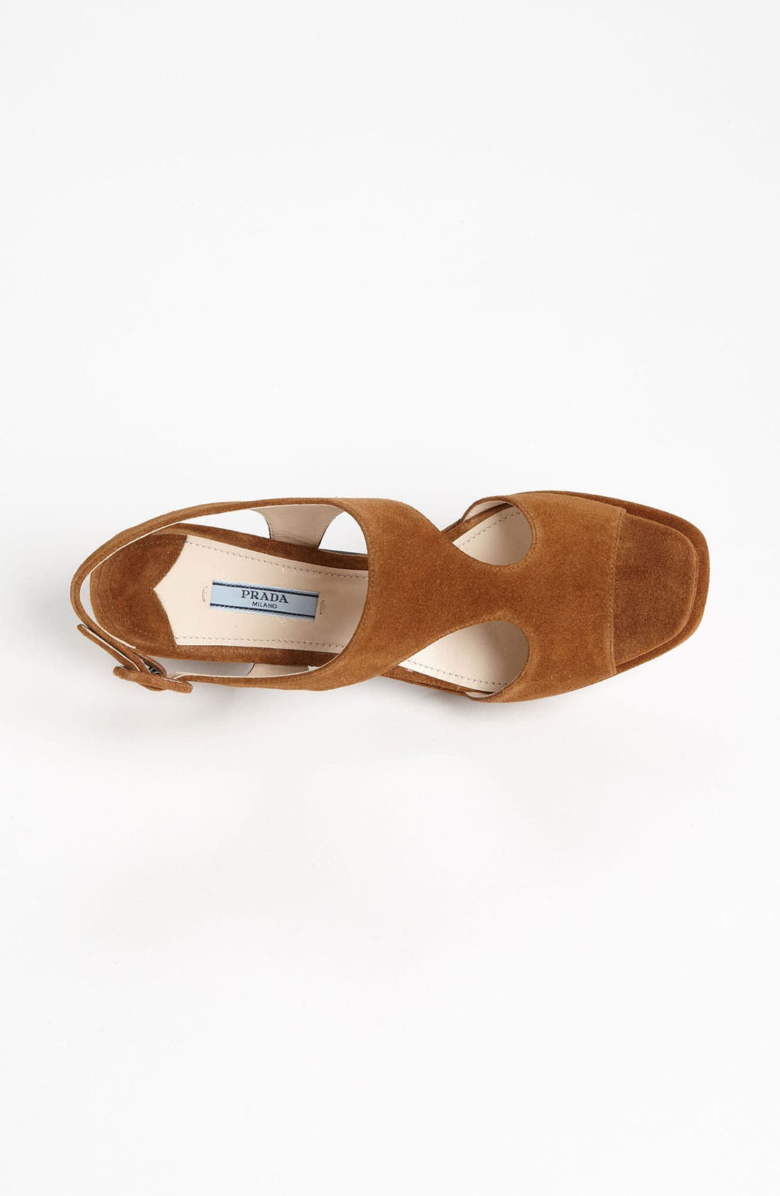 Alternate Image 4  - Prada Platform Block Heel Sandal