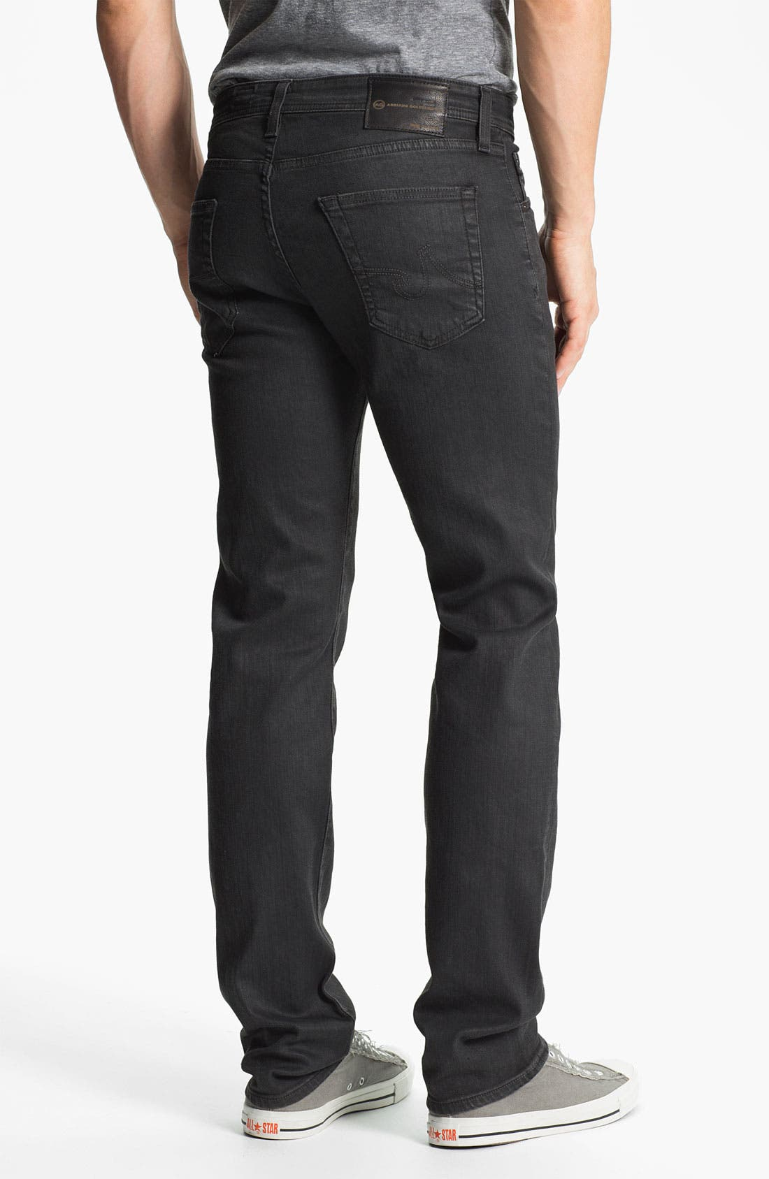 Alternate Image 2  - AG Jeans 'Matchbox Slim' Straight Leg Jeans (Alloy)
