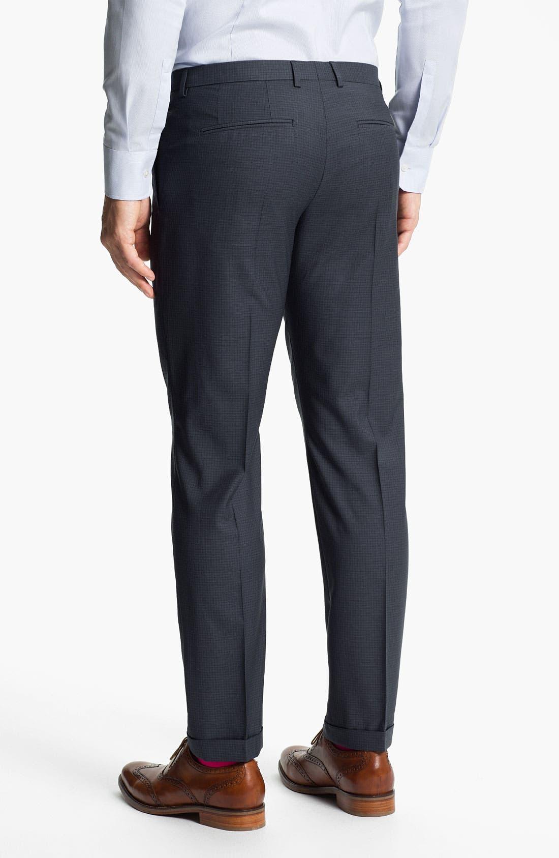 Alternate Image 5  - HUGO 'Amaro/Heise' Trim Fit Suit