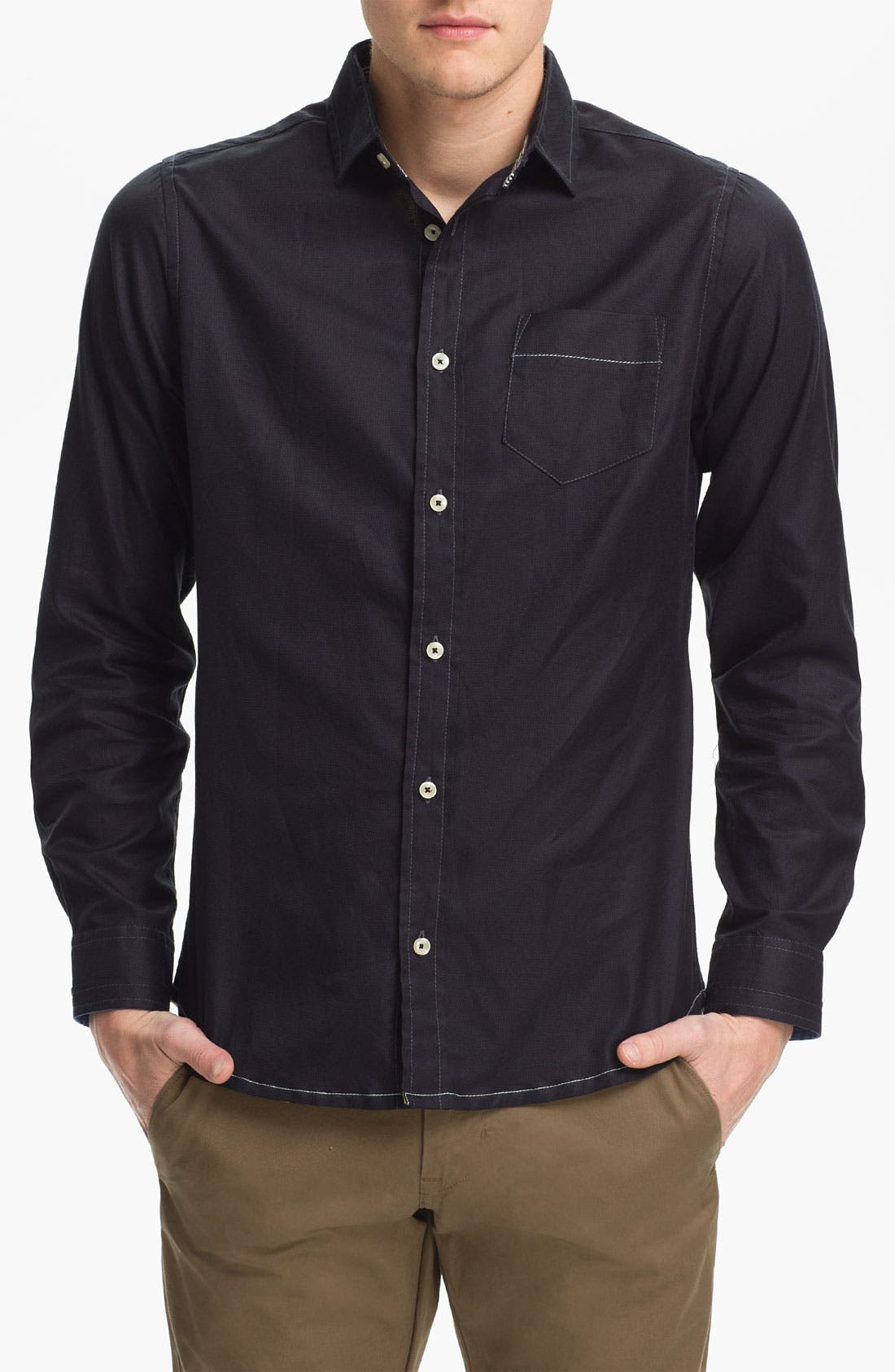 Alternate Image 1 Selected - Descendant of Thieves 'Royal' Trim Fit Shirt