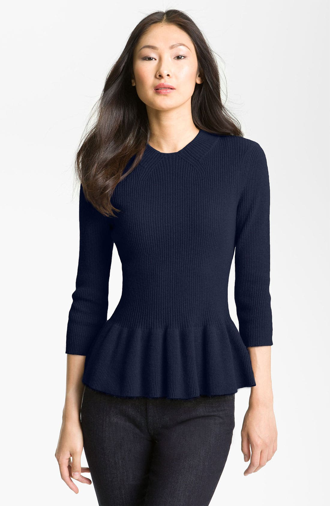 Alternate Image 1 Selected - Tory Burch 'Madeline' Sweater