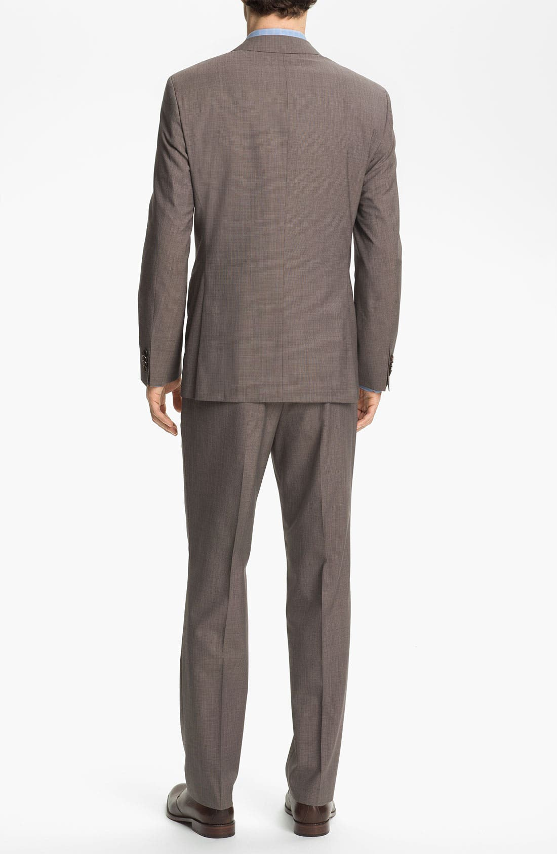 Alternate Image 3  - BOSS HUGO BOSS 'The Sweet/Sharp' Trim Fit Houndstooth Suit