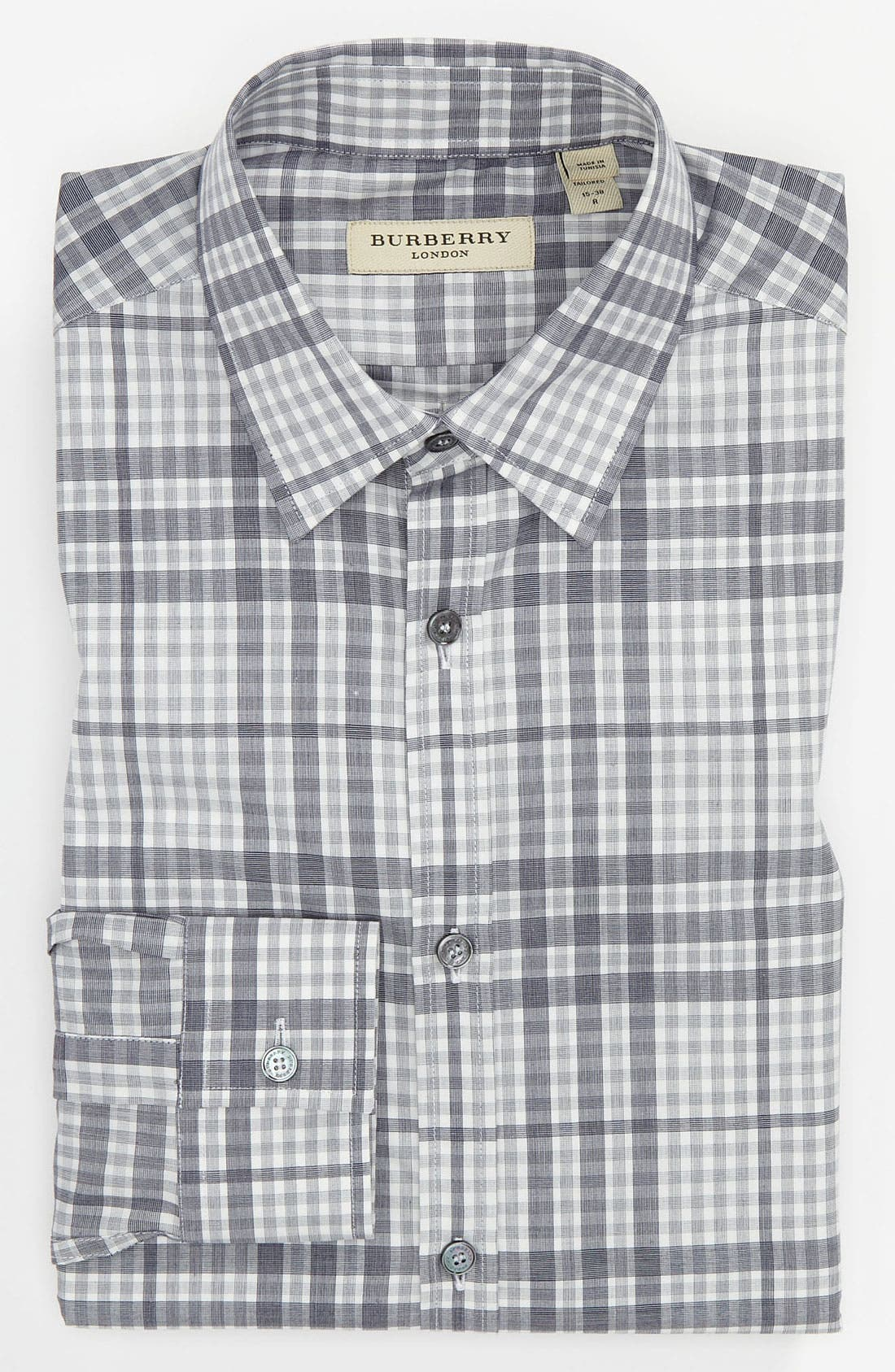Alternate Image 1 Selected - Burberry London Trim Fit Dress Shirt