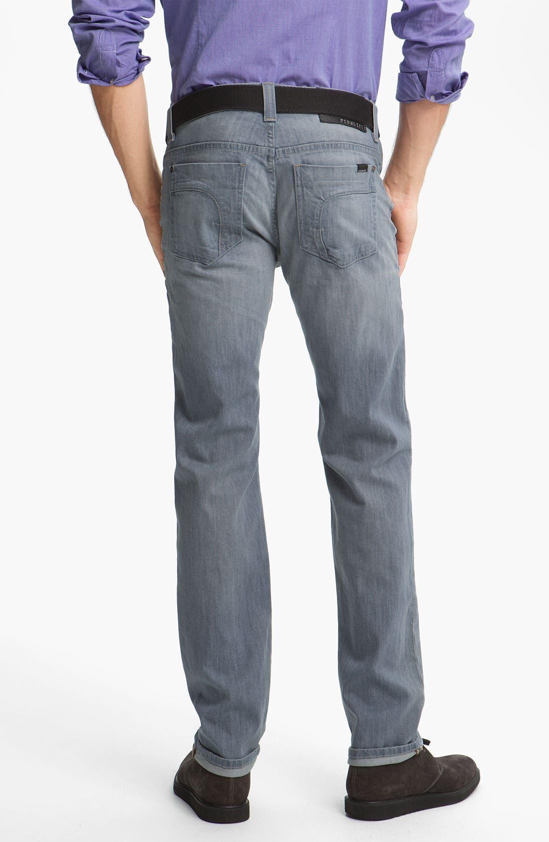 Alternate Image 2  - Fidelity Denim 'Impala' Straight Leg Jeans (Voodoo Ghost)