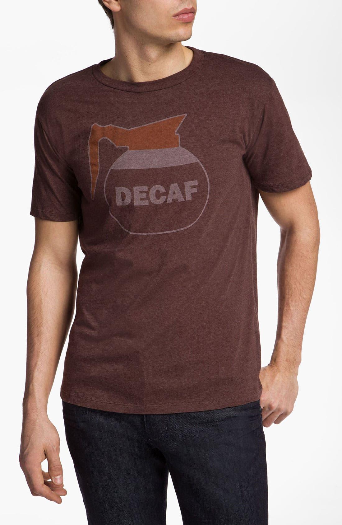 Alternate Image 1 Selected - Headline Shirts 'Decaf' Graphic T-Shirt