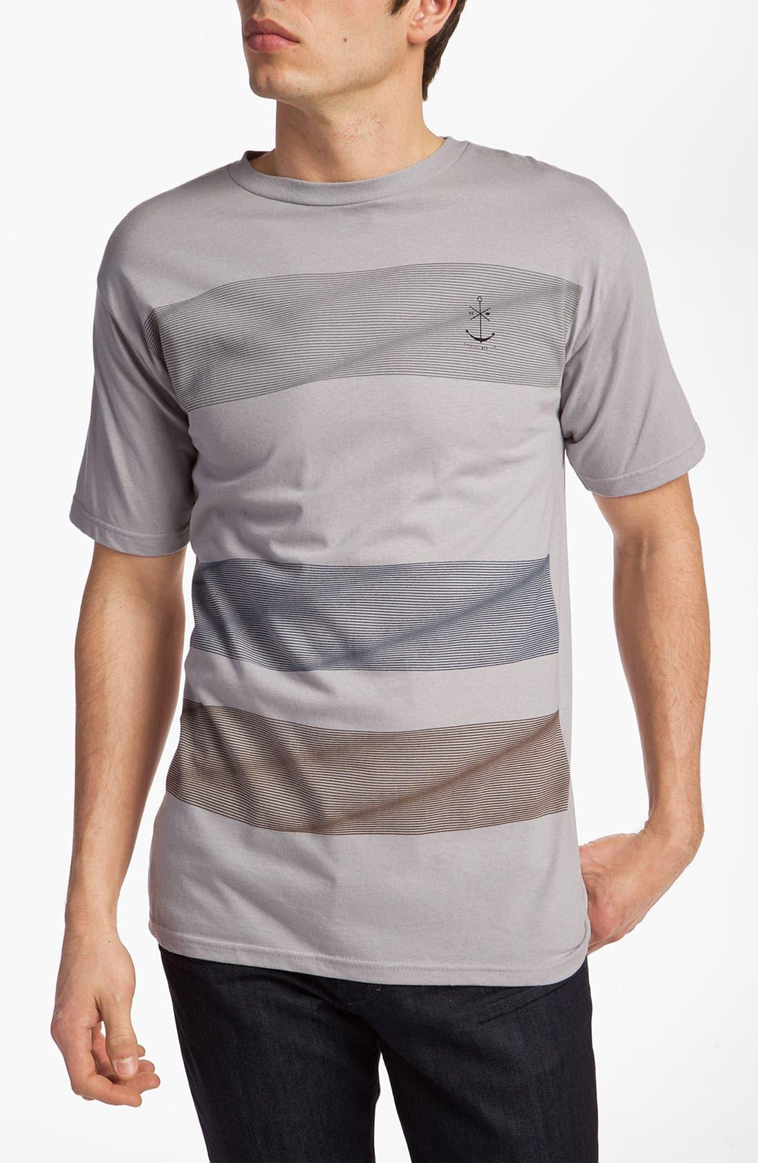 Alternate Image 1 Selected - Ezekiel 'Striation' Slim Fit T-Shirt