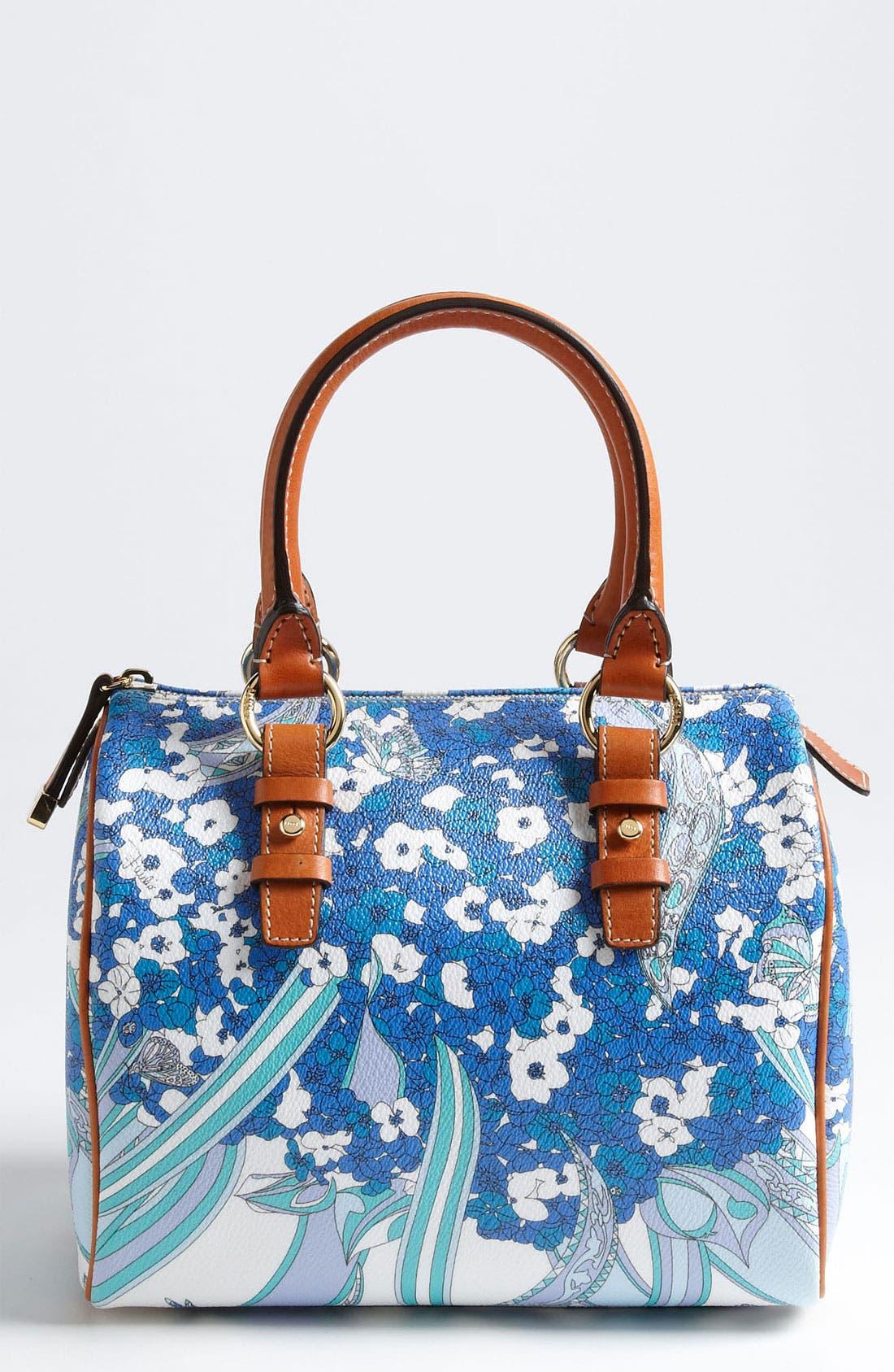 Main Image - Emilio Pucci 'Small' Boston Bag