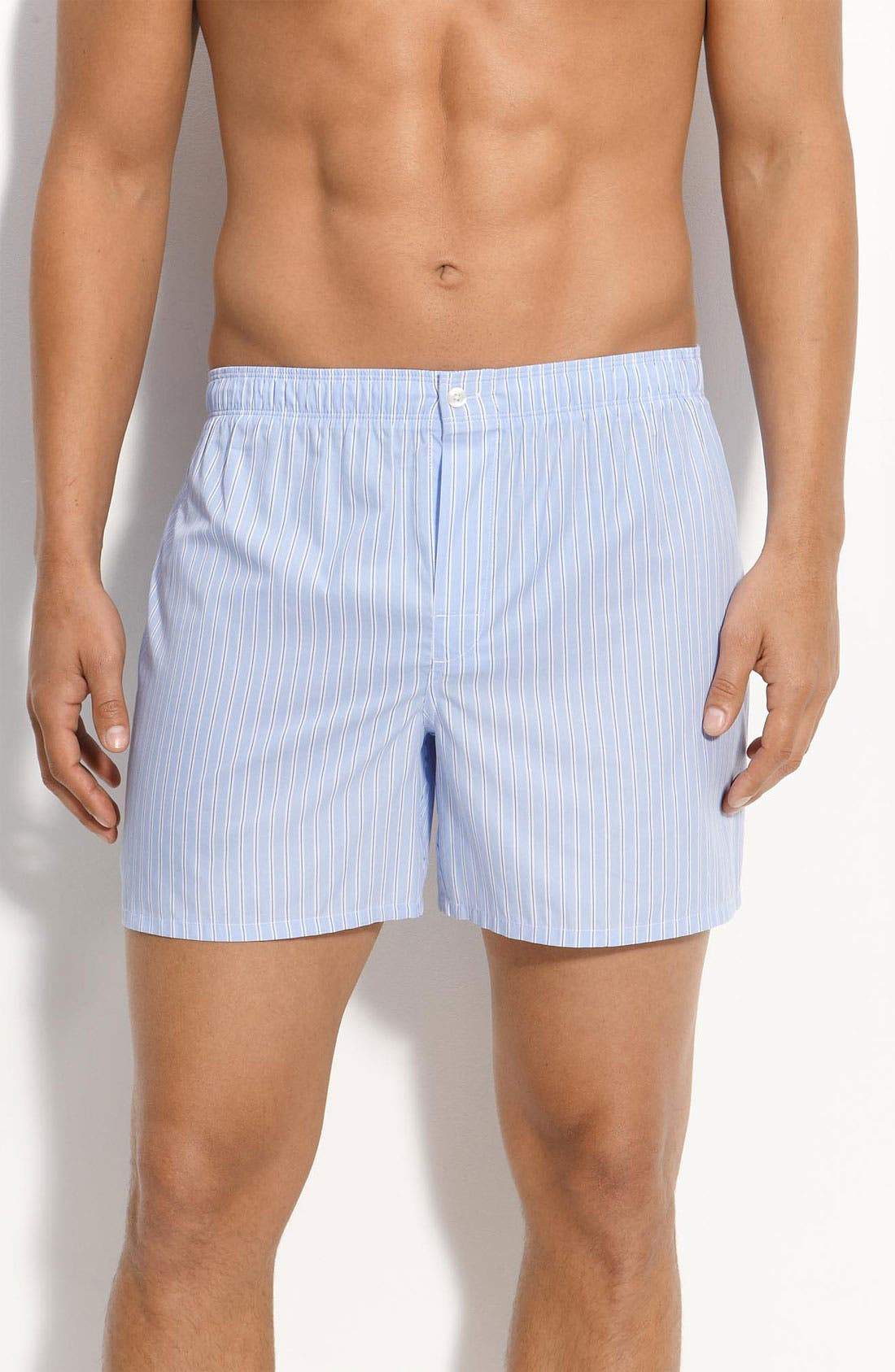 Main Image - Nordstrom Trim Fit Cotton Boxers