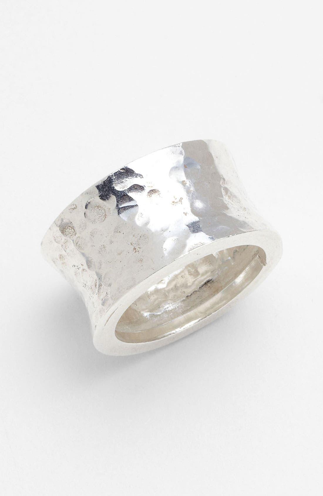 Alternate Image 1 Selected - Argento Vivo Cigar Band Ring