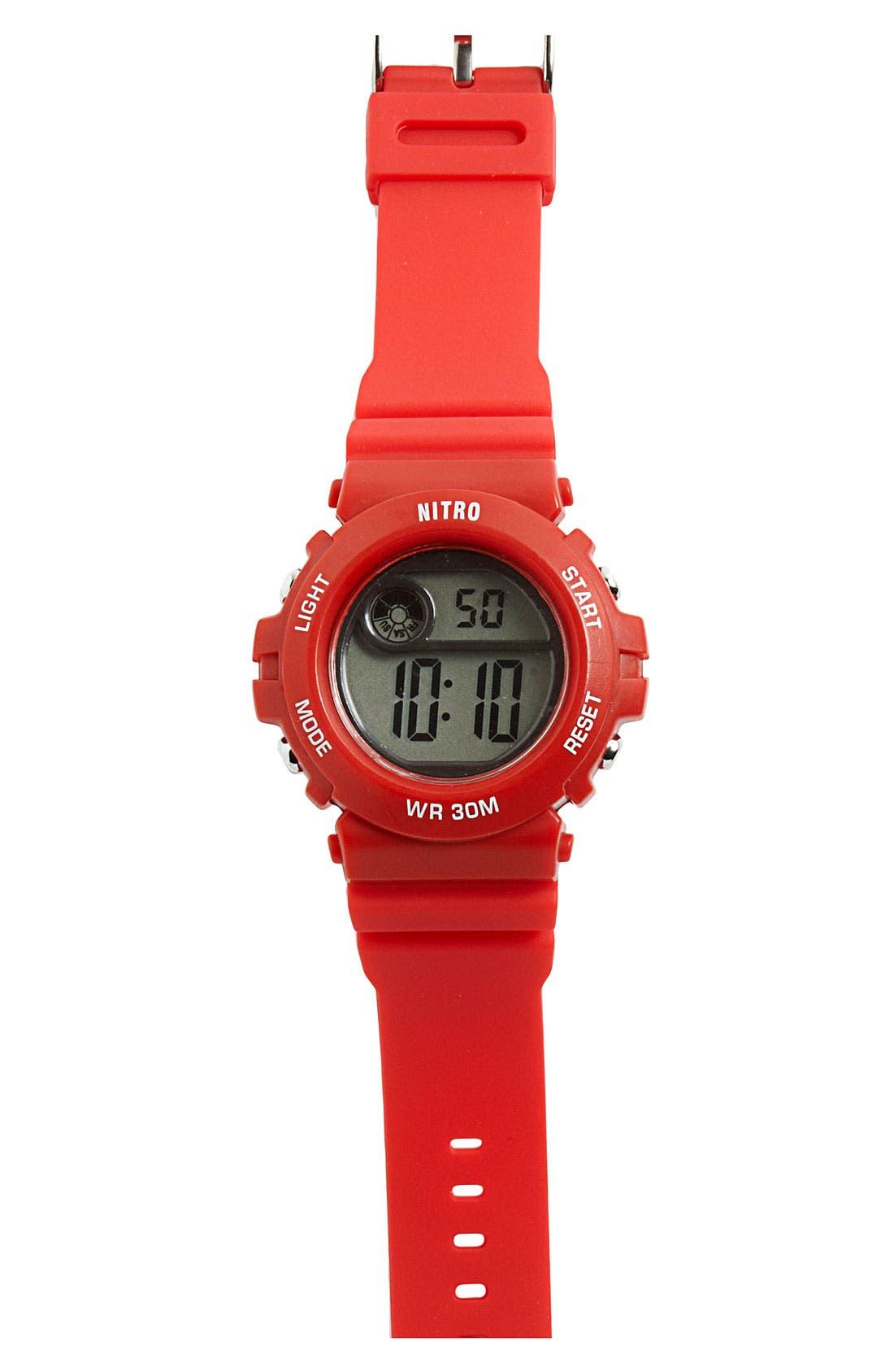 Alternate Image 1 Selected - Nitro Digital Watch (Big Boys)