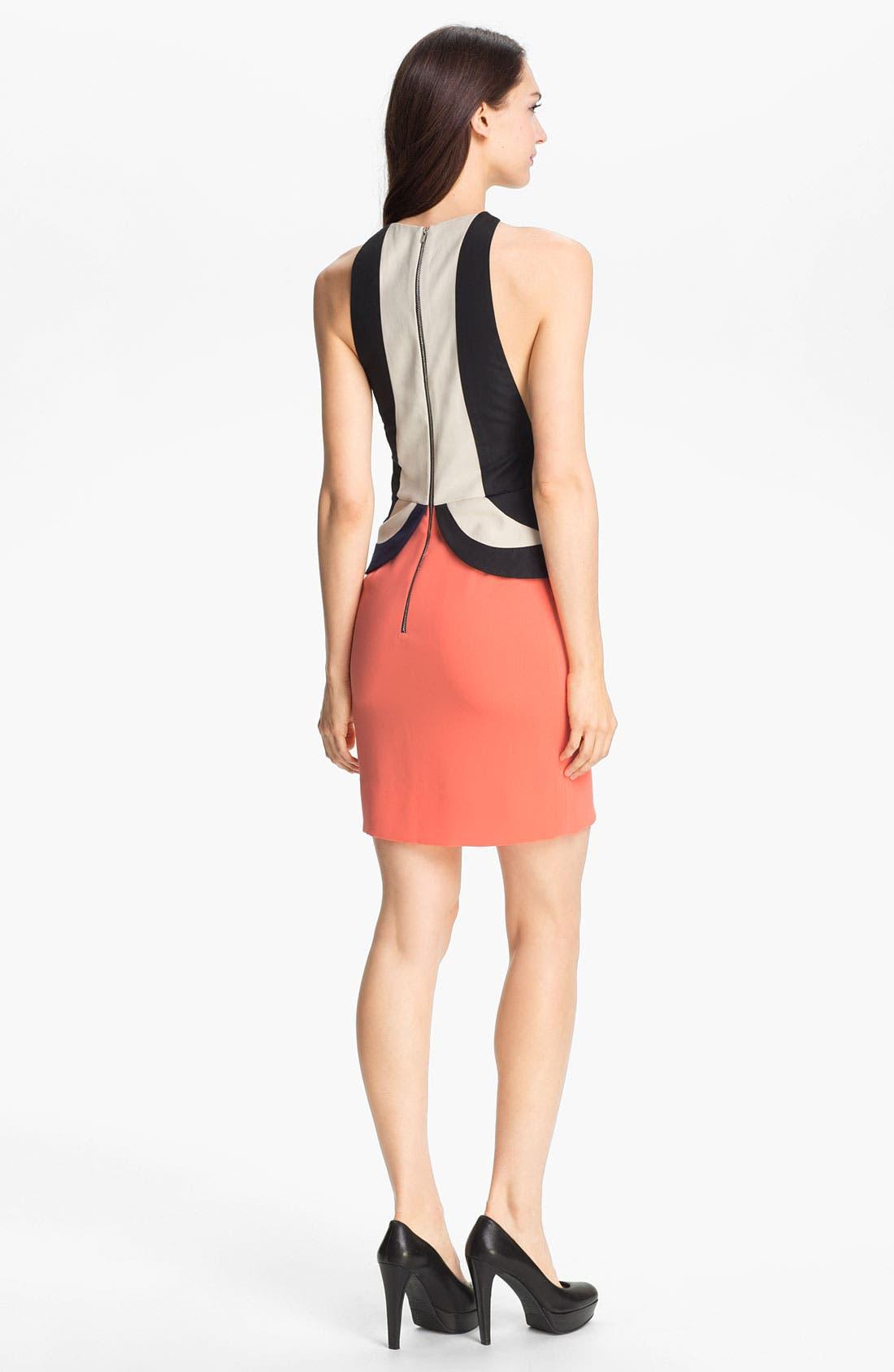 Alternate Image 2  - Diane von Furstenberg 'Eon' Peplum Sheath Dress