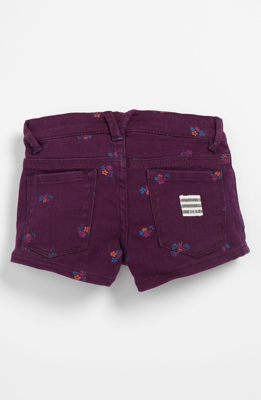 Alternate Image 1 Selected - Roxy 'Sundown' Colored Shorts (Big Girls)