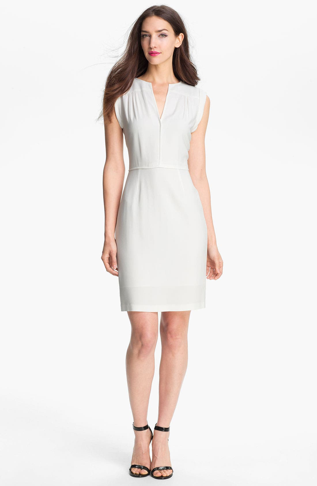 Main Image - Theory 'Nev' Stretch Knit Sheath Dress