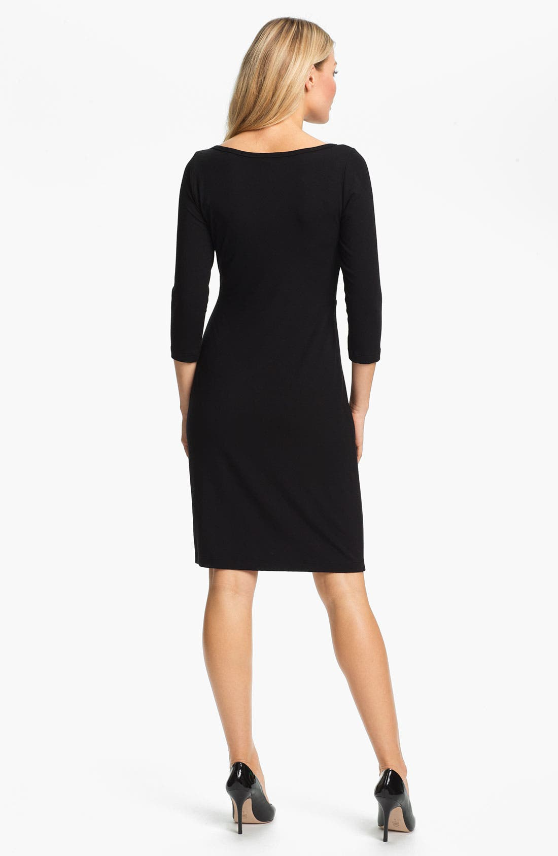 Alternate Image 2  - Karen Kane Scoop Neck Dress