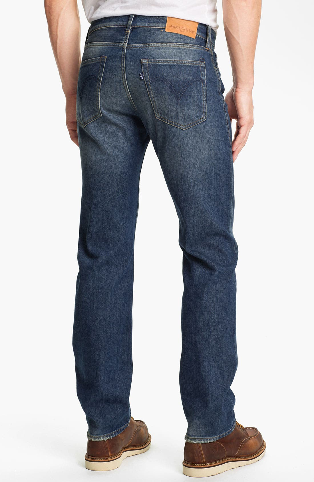 Alternate Image 2  - Levi's® Made & Crafted™ 'Ruler' Straight Leg Jeans (Wave)