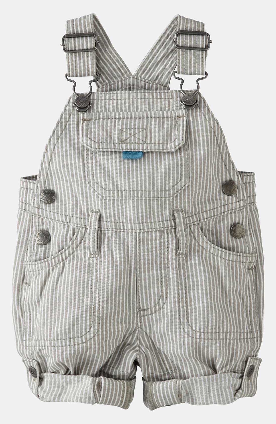 Alternate Image 1 Selected - Mini Boden 'Everyday' Overalls (Baby)
