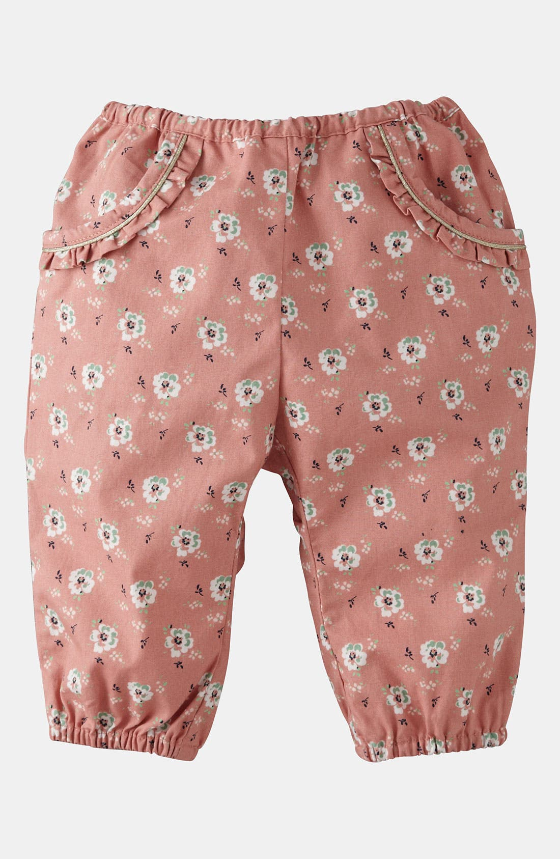 Alternate Image 1 Selected - Mini Boden 'Pretty' Pants (Baby)