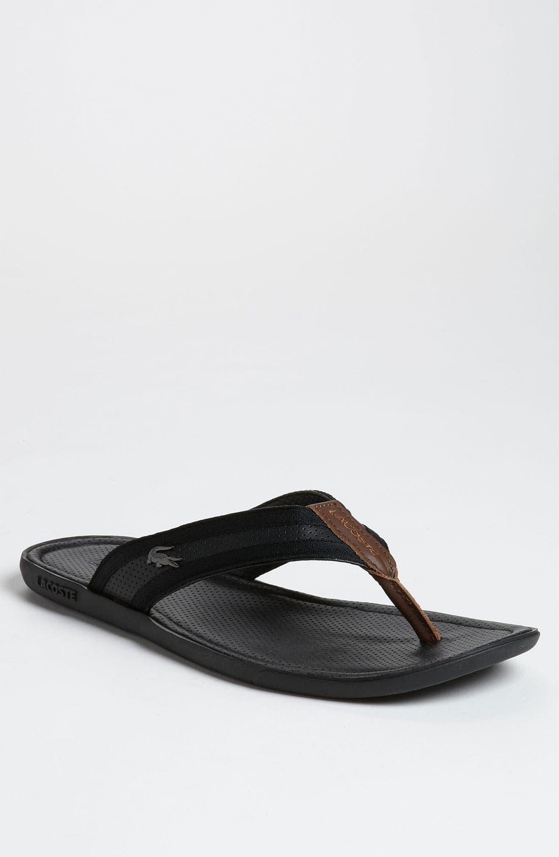 Main Image - Lacoste 'Carros 4' Flip Flop (Online Only)