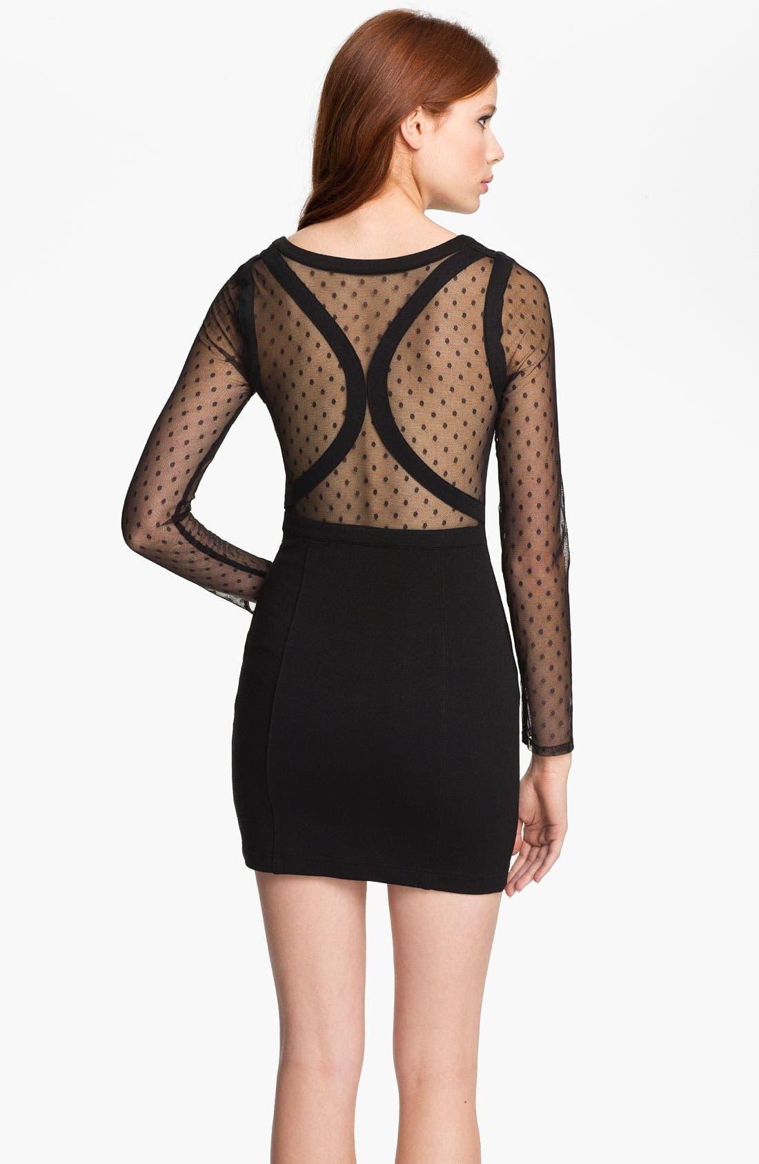 Alternate Image 2  - Keepsake the Label 'Devotion' Contoured Mini Dress