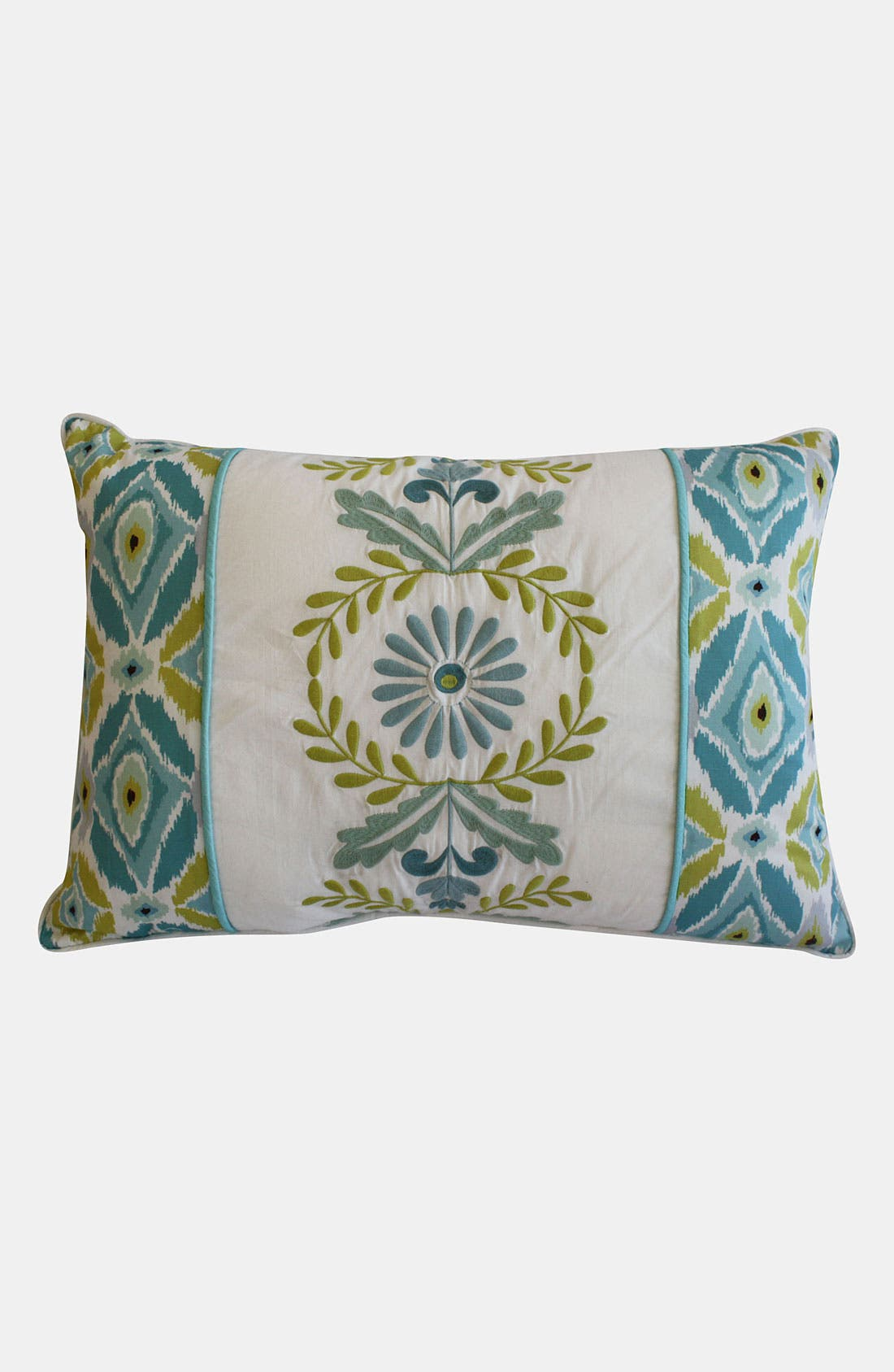 Main Image - Dena Home 'Breeze' Embroidered Pillow