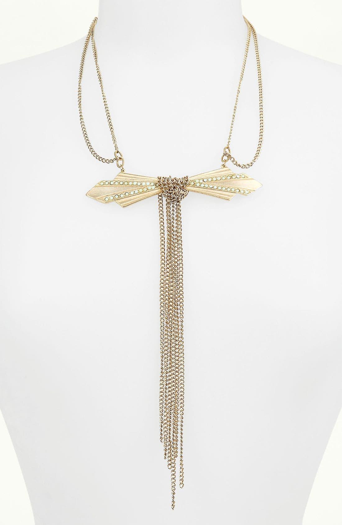 Main Image - Bonnie Jonas 'Deco Bow' Necklace