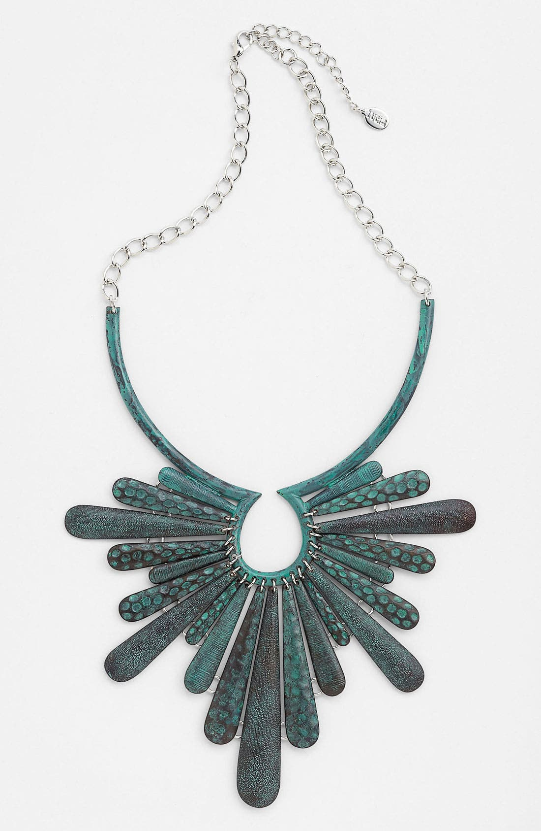 Alternate Image 1 Selected - Panacea Patina Statement Necklace