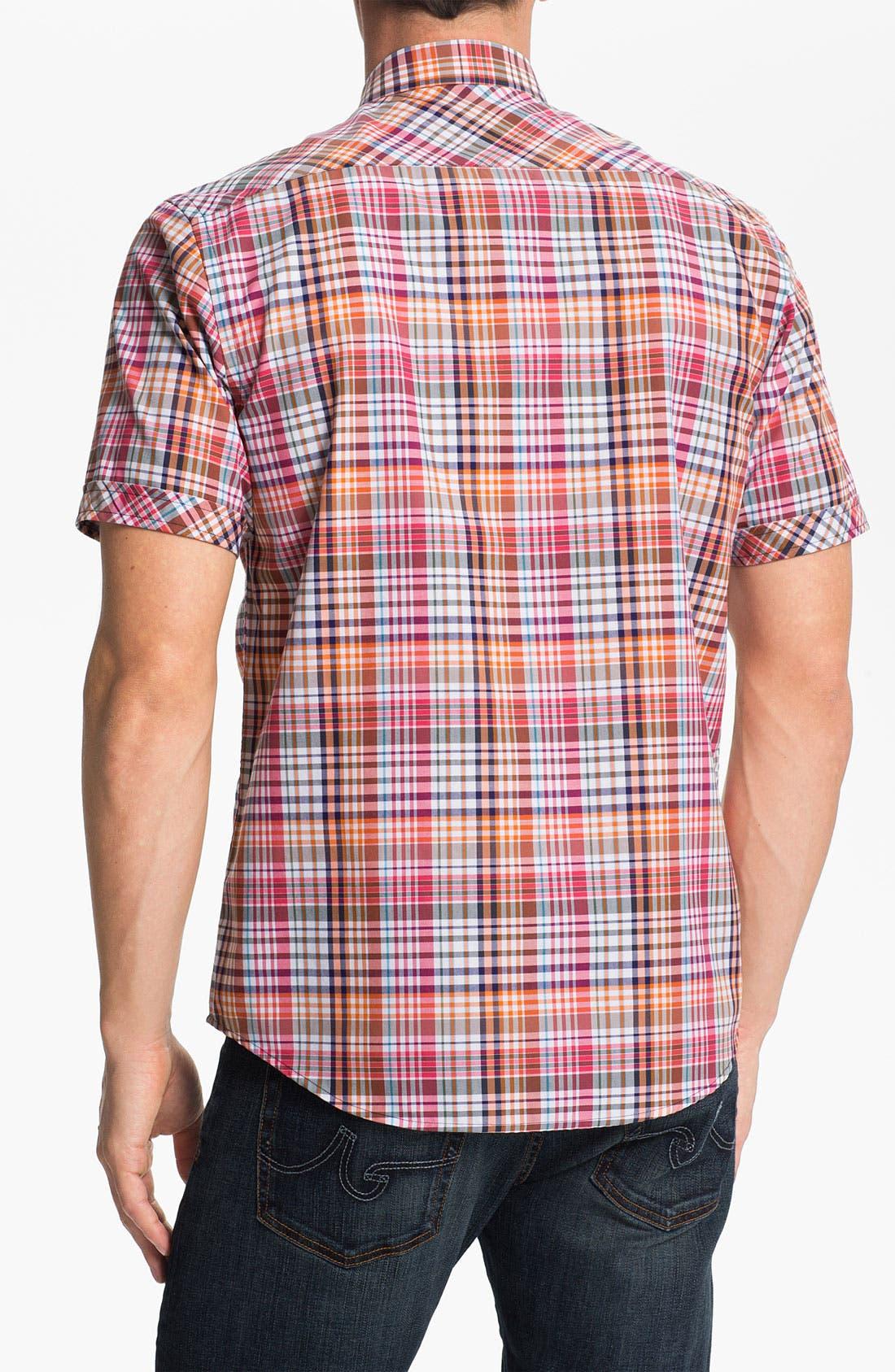 Alternate Image 2  - James Campbell 'Jamie' Plaid Sport Shirt