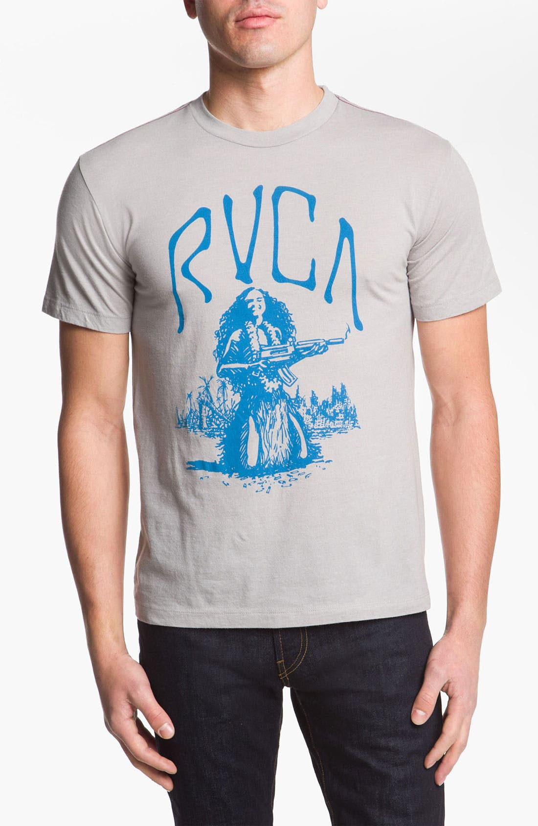 Alternate Image 1 Selected - RVCA 'Shooting Hula' Graphic T-Shirt