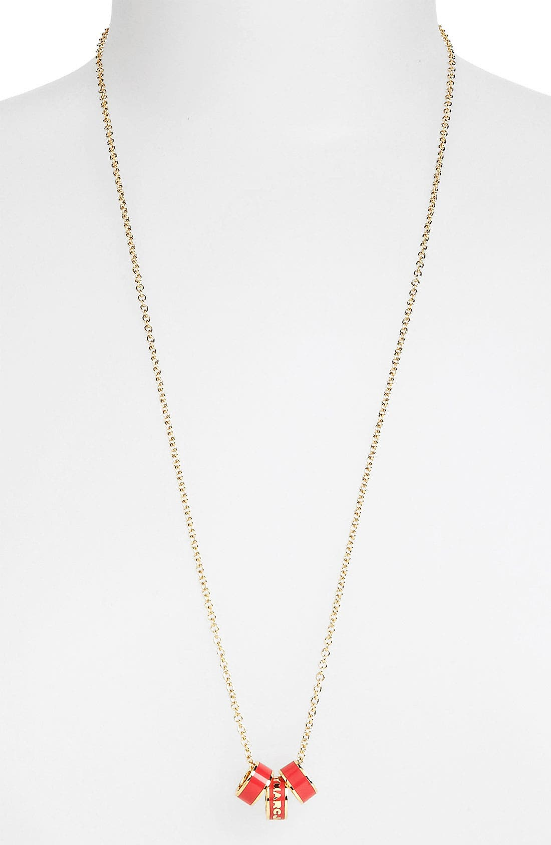 Alternate Image 1 Selected - MARC BY MARC JACOBS 'Classic Marc' Long Sweetie Pendant Necklace