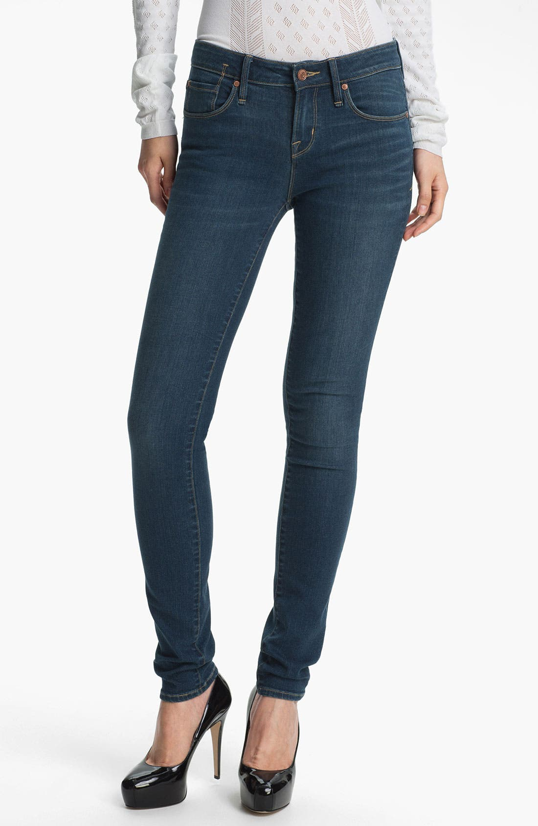 Alternate Image 1 Selected - MARC BY MARC JACOBS 'Gaia' Super Skinny Stretch Jeans (Sammy)