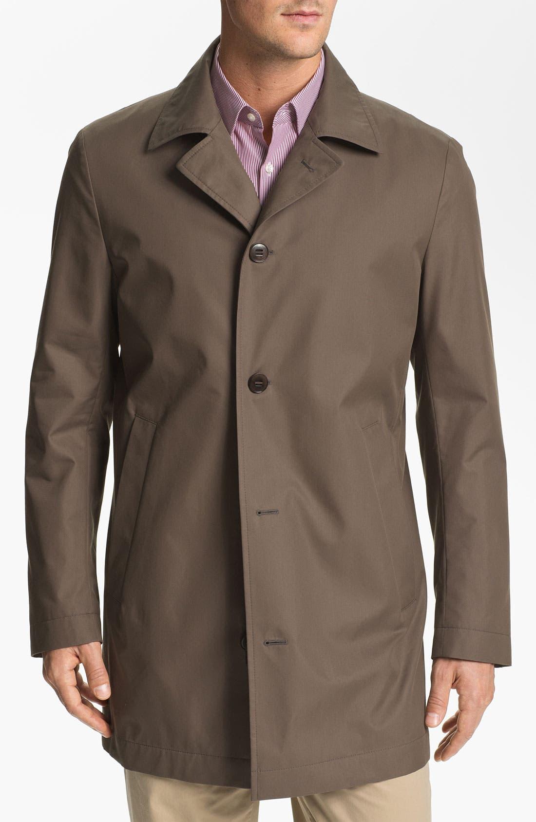 Alternate Image 1 Selected - BOSS Black 'Dias' Raincoat