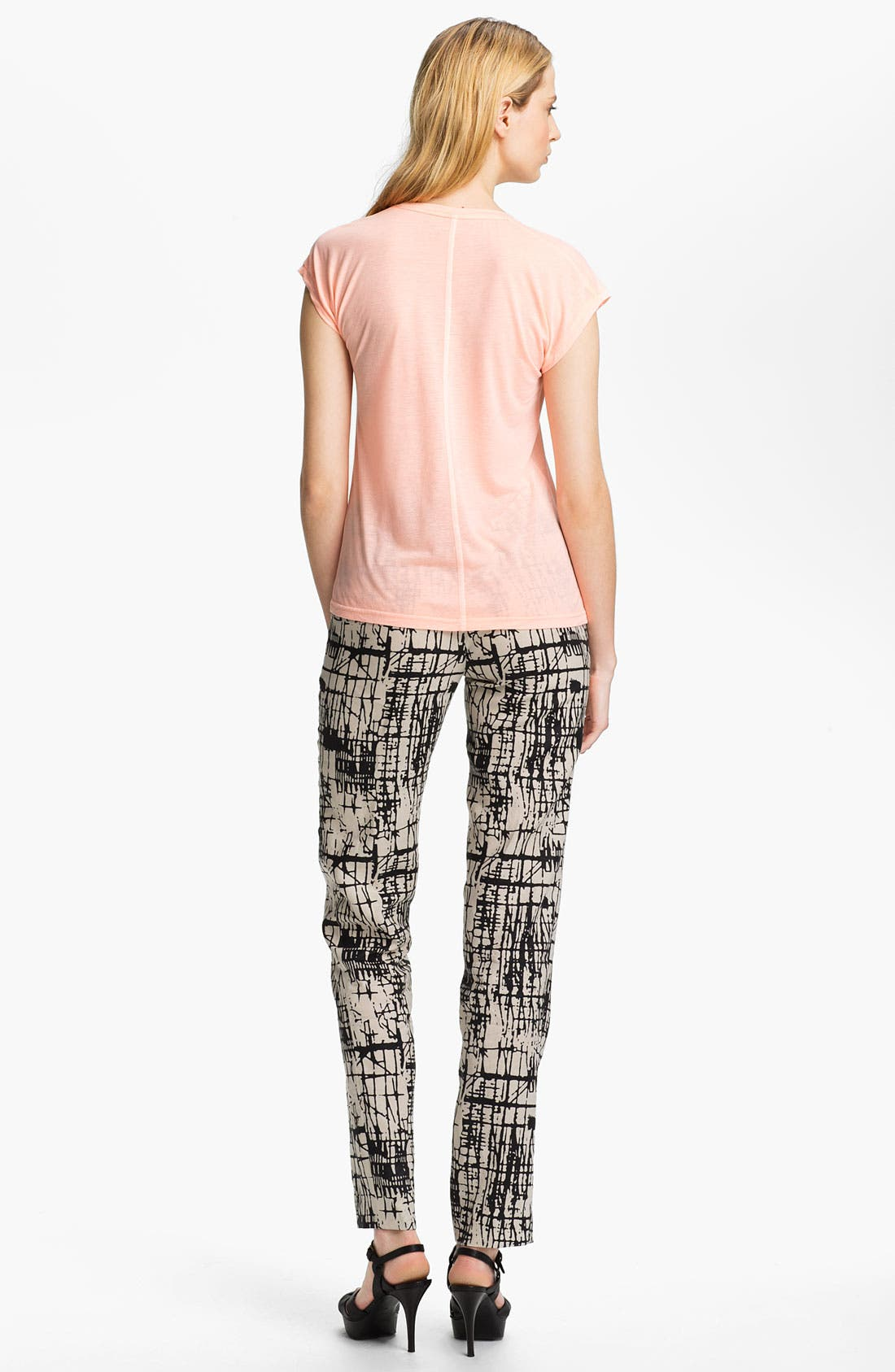 Alternate Image 4  - J Brand Ready-to-Wear 'Rosemary' Print Trousers