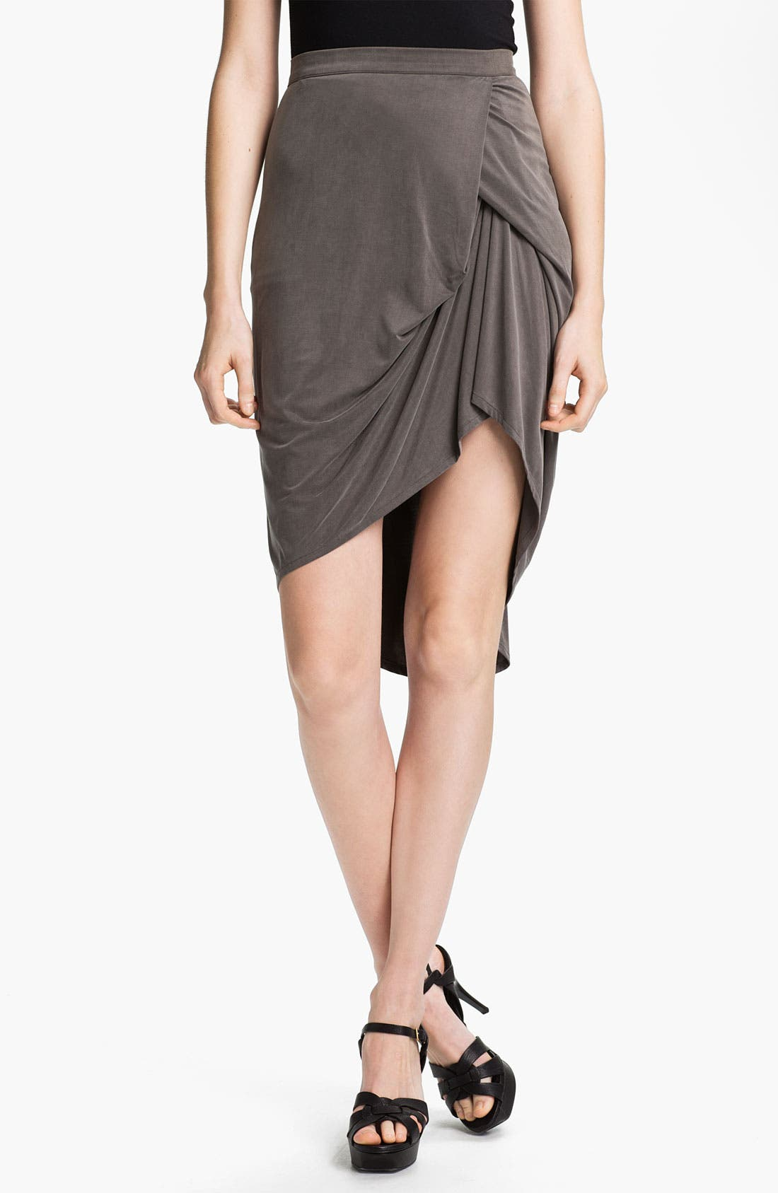 Main Image - J Brand Ready-to-Wear Draped Skirt