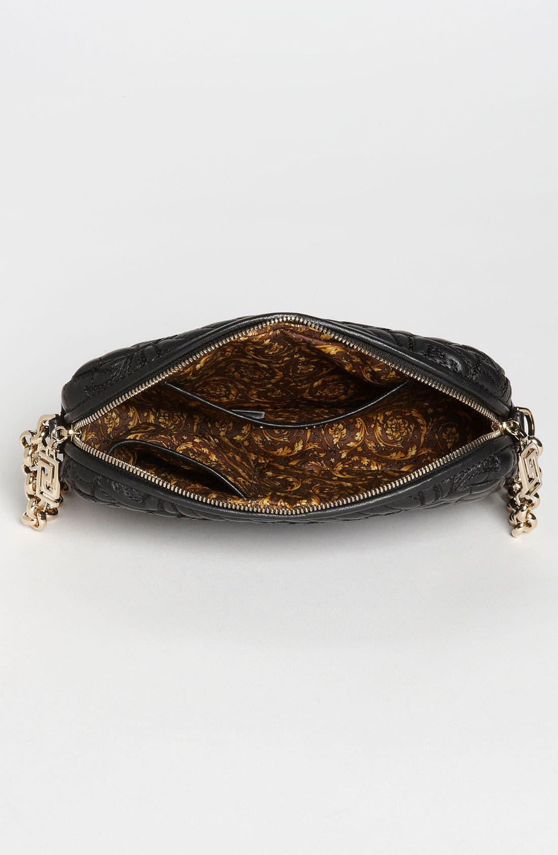 Alternate Image 3  - Versace 'Vanitas' Embroidered Leather Shoulder Bag