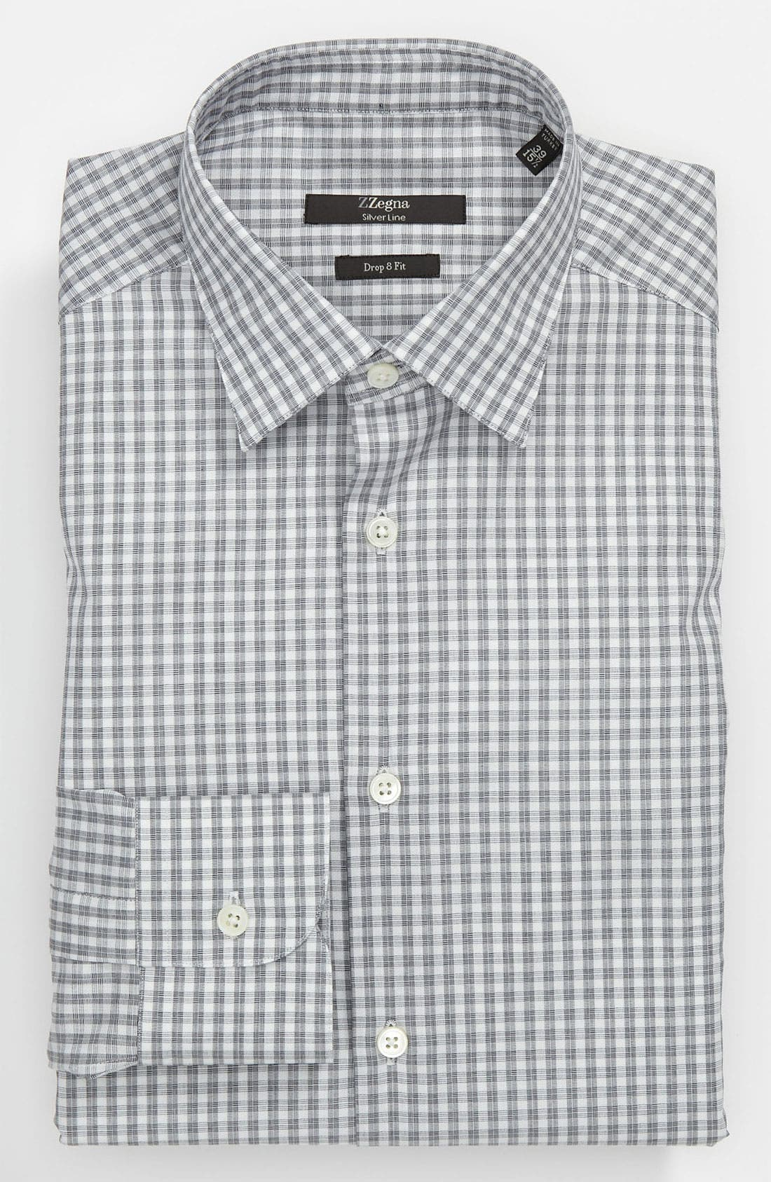 Alternate Image 1 Selected - Z Zegna Drop 8 Fit Dress Shirt