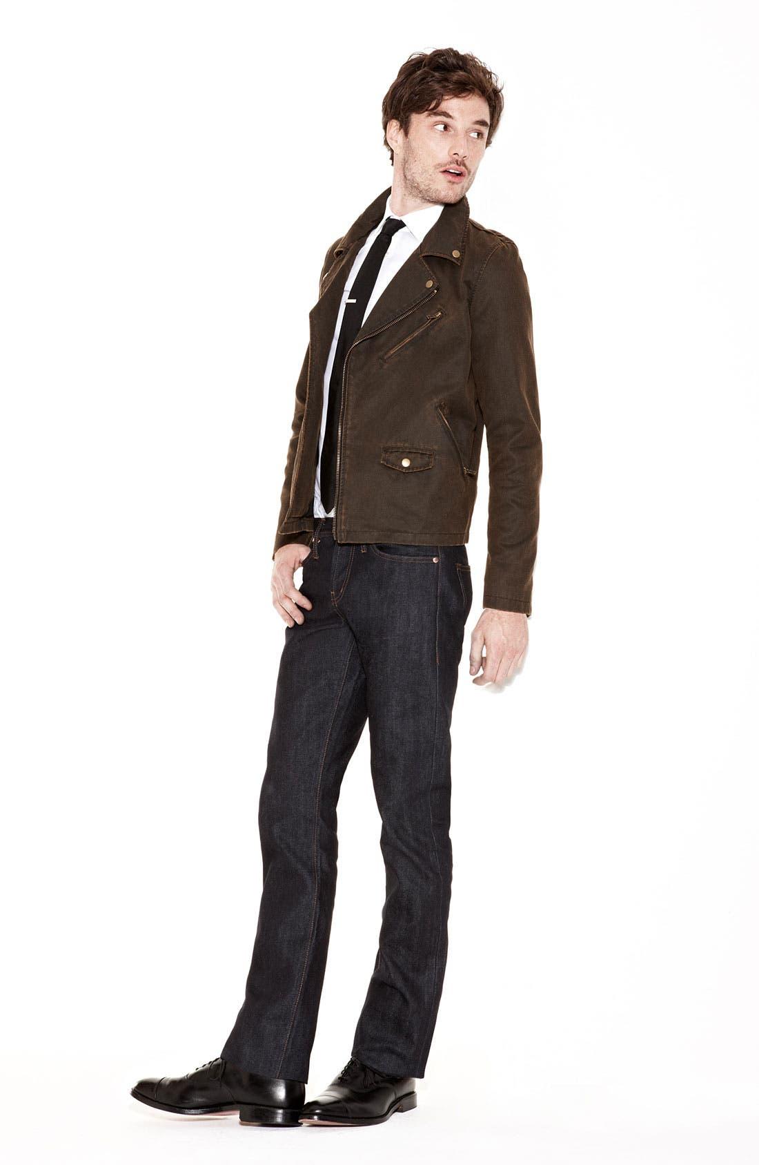 Alternate Image 6  - Obey Coated Moto Jacket