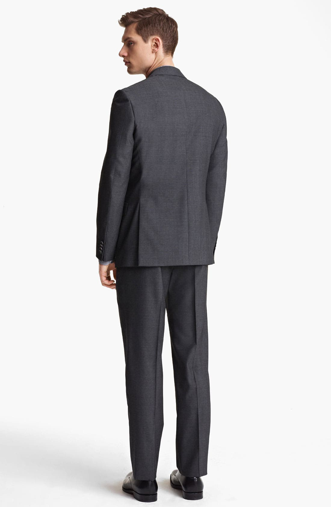 Alternate Image 3  - Z Zegna Trim Fit Wool Suit